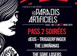 PASS 2 SOIREES : Idéal de Tourcoing 28/03 + Zénith de Lille 29/03
